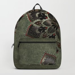 Wonderful noble mandala design Backpack