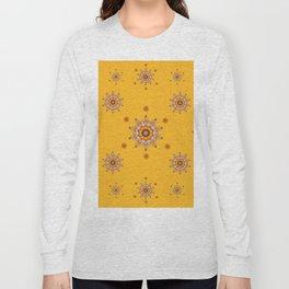 Snowflake - Gold Long Sleeve T-shirt