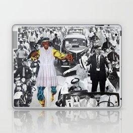 Inauguration Run - Vintage Collage Laptop & iPad Skin