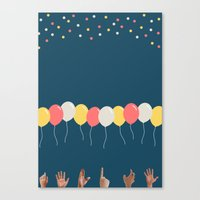baloon Canvas Prints featuring Baloon by ARIS8