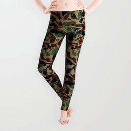 Dachshund  Camouflage Leggings