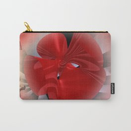 red polynomial flower -2- Carry-All Pouch