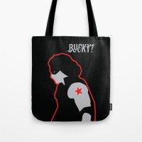 bucky Tote Bags featuring Bucky? by ElectricShotgun