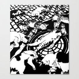 Copycat Suicide Canvas Print