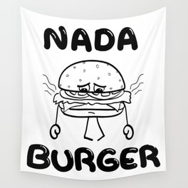 Nada Burger Wall Tapestry