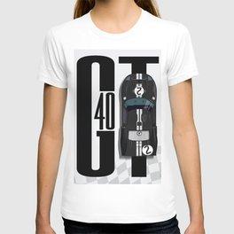 GT40 Black Top Tribute T-shirt