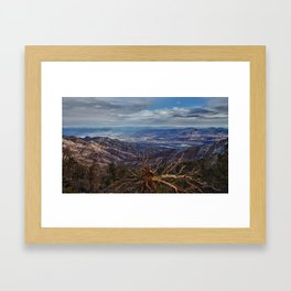 Death Valley Vista Framed Art Print