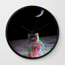 COLORFUL MOONS Wall Clock