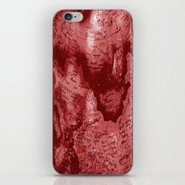 Russia in Red iPhone Skin