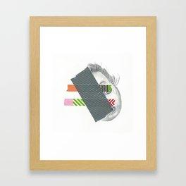 Doll-Face Framed Art Print