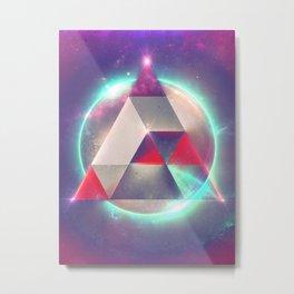 4try Metal Print