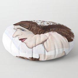 Elizabeth II Floor Pillow
