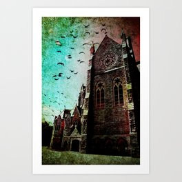 Church of Our Lady Art Print