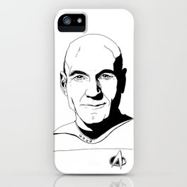 Jean-Luc Picard iPhone Case