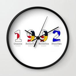 1992 - NAVY - My Year of Birth Wall Clock