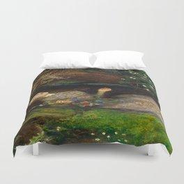 Ophelia, John Everett Millais Duvet Cover