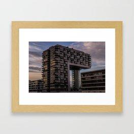 Kranhaus Framed Art Print