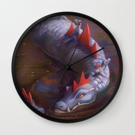 mommy gatr Wall Clock