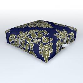 Ornate Vintage Pattern Outdoor Floor Cushion