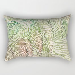 Seven of Wands Rectangular Pillow