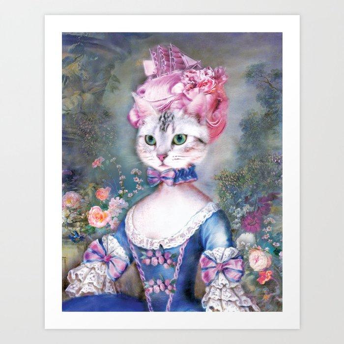 Marie Antoinette Kitty Kunstdrucke