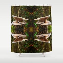 Mushrooms Galore Shower Curtain