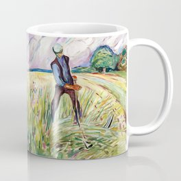 The Haymaker by Edvard Munch Coffee Mug