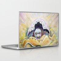 tortoise Laptop & iPad Skins featuring Baby Tortoise by CrismanArt