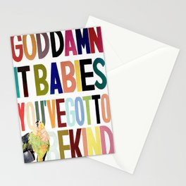 Goddamnit babies Stationery Cards