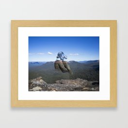 Darug Lovers The Blue Mountains Framed Art Print