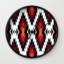 American Native Pattern No. 173 Wall Clock
