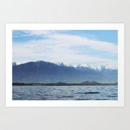 Take me to the Ocean (Kaikoura, New Zealand) Art Print