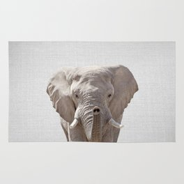 Elephant - Colorful Rug