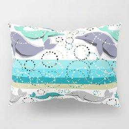 Dolphin Swim Pillow Sham