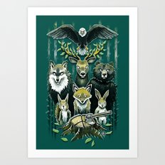 FoRest In Peace Art Print