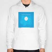pixar Hoodies featuring No134 My UP minimal movie poster by Chungkong