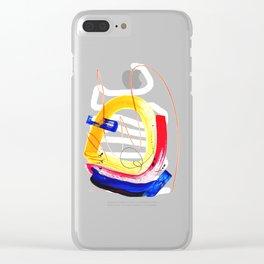 Cyberman Clear iPhone Case