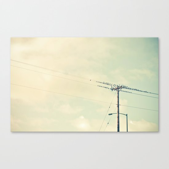 breaktime Canvas Print