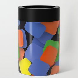 wild color pieces Can Cooler