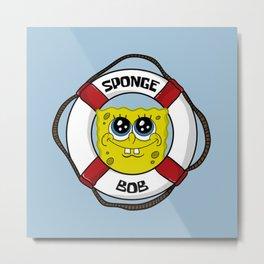 Spongebob Buoy Metal Print