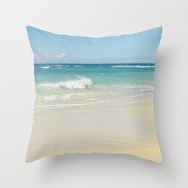 Beach Love the Secret Heart of Wonder Throw Pillow