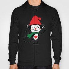 Little Monkey Santa Claus Hoody
