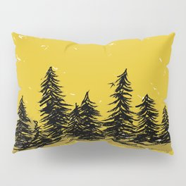 Golden Trees in the Pacific Northwest- PNW Pillow Sham