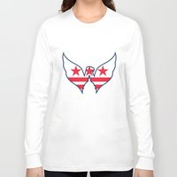 dc Long Sleeve T-shirts featuring DC Captials by Cultivate Bohemia