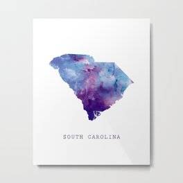 South Carolina Metal Print