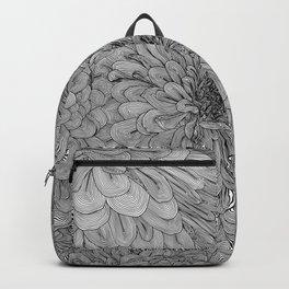 Linework Zinnias Backpack