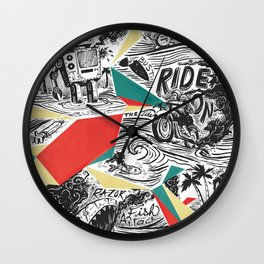Mechtopia Wall Clock