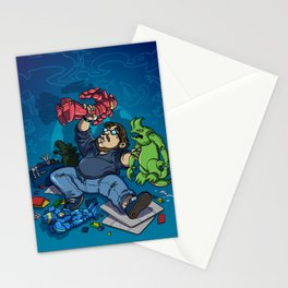 Boys and Their Toys Stationery Cards