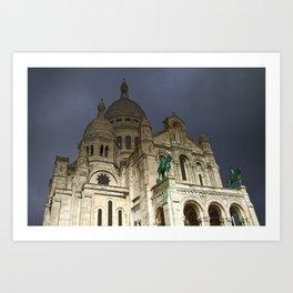 Sacré-Cœur Basilica Art Print