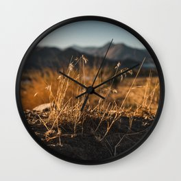 Morning Light Wall Clock